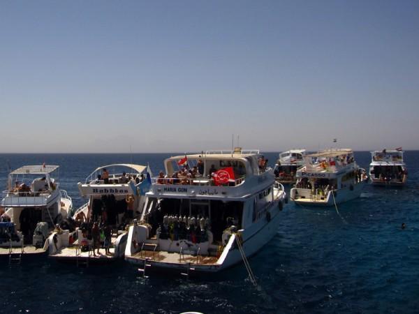 Duik- en snorkelboten   Abu Ramada Zuid   15-09-2009