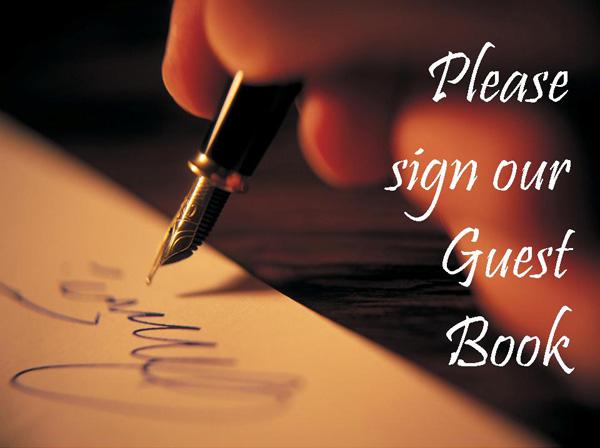 Gastenboek | Guestbook