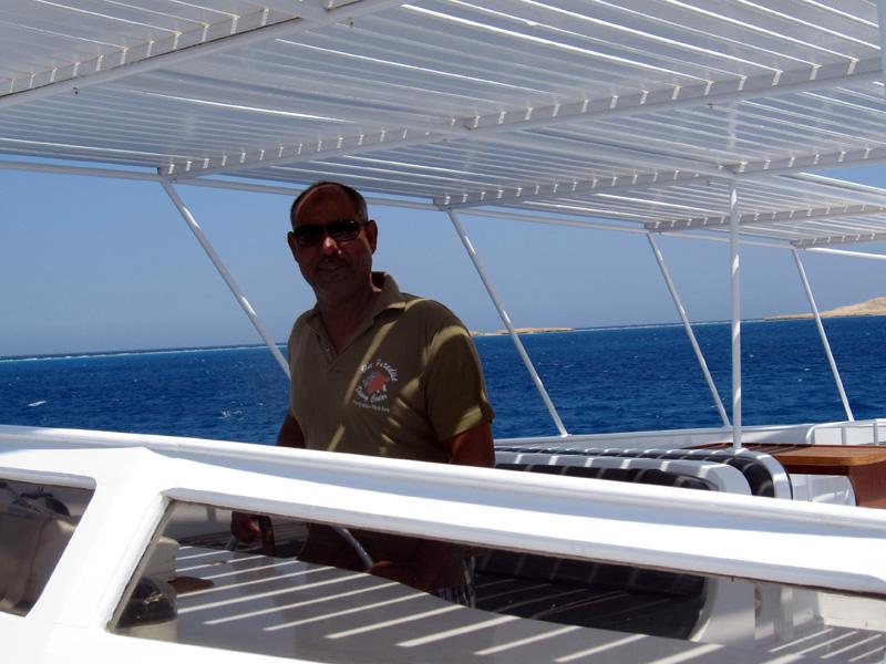 Kapitein Ayman | Locatie: Basyl - Hurghada - Egypte | Datum: 08-05-2011