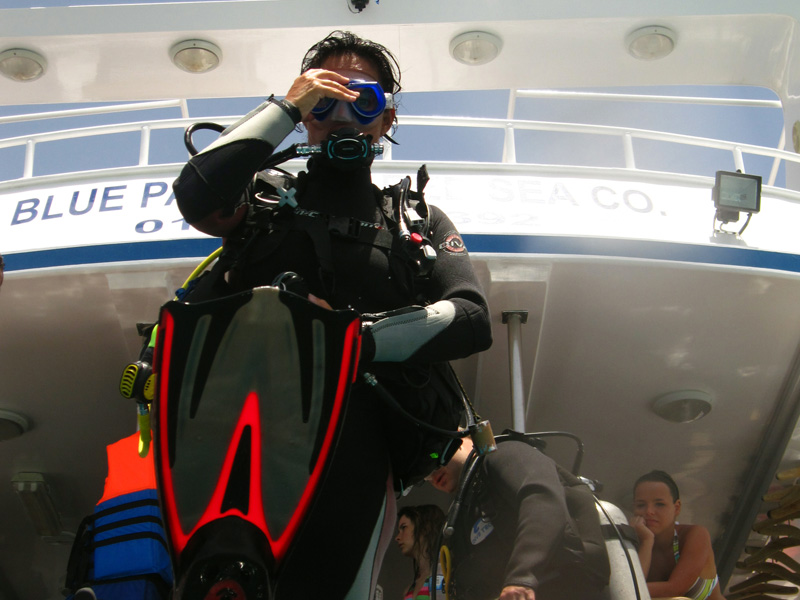 Mandy gaat te water   Sachwa Abu Galawa (snorkelen)   29-06-2010