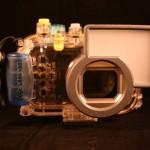 Onderwaterbehuizing Canon WP-DC 32 (voorzijde)